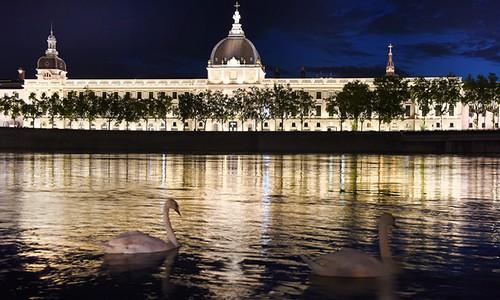 Le Grand Hotel Dieu à Lyon